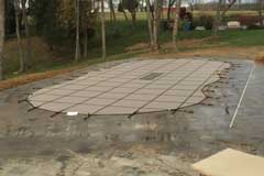 in ground swimming pool winter safety cover